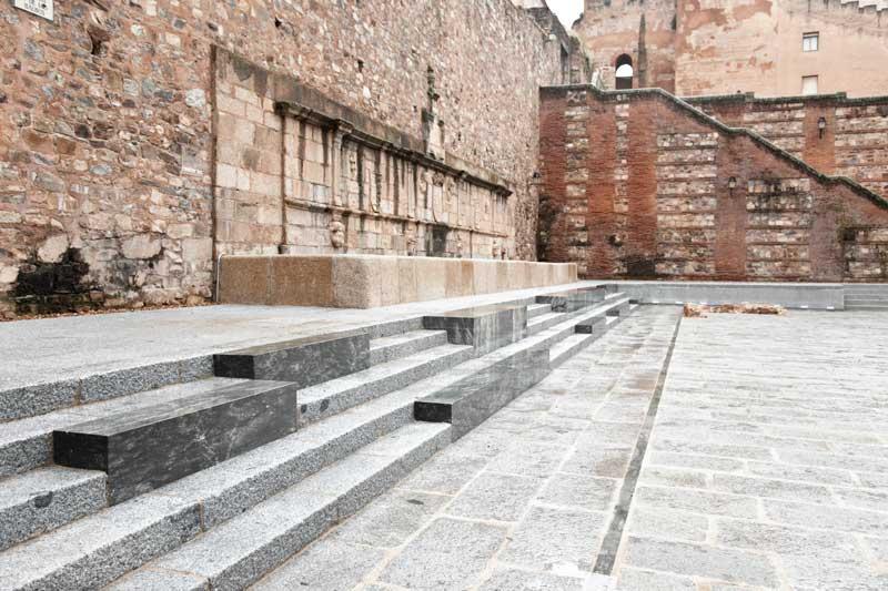 Remodelación de la Plaza Mayor de Cáceres
